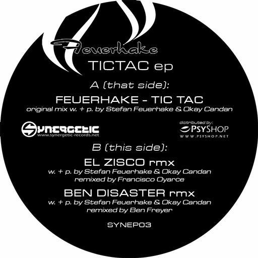 Stefan Feuerhake Feuerhake – Tic Tac ep